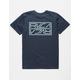 RVCA Reflector Navy Mens T-Shirt