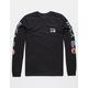 RVCA ANP Black Mens T-Shirt