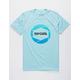 RIP CURL Camera Aqua Mens T-Shirt