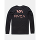 RVCA VA Spray Mens Pocket Tee