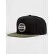 RIP CURL Staple Black Mens Snapback Hat
