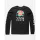 RVCA Roze Mens T-Shirt