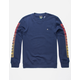 LRG Sunburst Navy Mens Sweatshirt