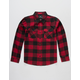SHOUTHOUSE Buffalo Boys Flannel Shirt