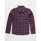RSQ Mead Boys Flannel Shirt