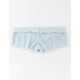 FULL TILT Solid Band Lace Baby Blue Boyshorts