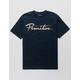 PRIMITIVE Nuevo Script Navy Mens T-Shirt