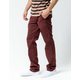VANS Authentic Wine Mens Chino Stretch Pants