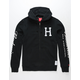 HUF x Budweiser Classic Mens Zip Hoodie