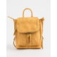 VIOLET RAY Kendall Mustard Mini Backpack