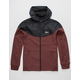 IMPERIAL MOTION Larter Softshell Burgundy Mens Hooded Jacket