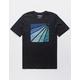 HURLEY Prism Burst Mens T-Shirt