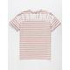 HUF Nevermind White Mens T-Shirt