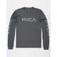 RVCA Big RVCA Black Mens T-Shirt