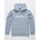 RVCA Big RVCA Heather Gray Boys Hoodie