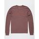 RVCA Big RVCA Bordeaux Mens T-Shirt