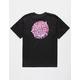 SANTA CRUZ Brain Dot Black Boys T-Shirt