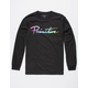 PRIMITIVE Nuevo Gradient Black Mens T-Shirt