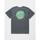 SANTA CRUZ Brain Dot Charcoal Boys T-Shirt