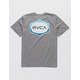 RVCA Unleaded Gray Boys T-Shirt