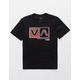 RVCA Rise Box Black Boys T-Shirt