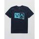 RVCA Rise Box Navy Boys T-Shirt