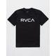 RVCA Big RVCA Black Boys T-Shirt