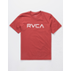 RVCA Big RVCA Garnet Boys T-Shirt