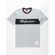 HUF x Budweiser Striped Hufweiser Mens T-Shirt