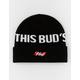 HUF x Budweiser This Bud's For You Black Mens Beanie