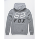 FOX Heritage Forger Mens Heather Hoodie