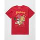 RIOT SOCIETY Tiger Blossom Red Mens T-Shirt