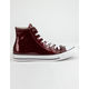 CONVERSE Chuck Taylor All Star Wonderworld Dark Burgundy High Top Womens Shoes