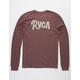 RVCA Sagebrush Bordeaux Mens T-Shirt