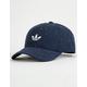 ADIDAS Originals Relaxed Wool Collegiate Navy & White Mens Strapback Hat