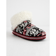 MUK LUKS Fairisle Womens Slippers