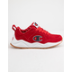 CHAMPION Life 93 Eighteen C Logo Scarlet Suede Boys Shoes