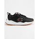 CHAMPION Life 93 Eighteen C Logo Black Leather Boys Shoes