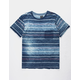 RVCA Rusholme Stripe Mens Pocket Tee