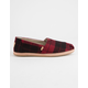 TOMS Alps Plaid Womens Shoes
