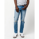 RSQ London Ripped Mens Skinny Jeans