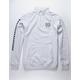 VANS Check It Quarter Zip Mens Sweatshirt