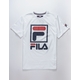 FILA Stacked Logo Boys T-Shirt