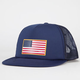 O'NEILL Double Down Flag Mens Trucker Hat