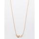FULL TILT Double Heart Gold Necklace