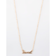 FULL TILT Sweet Gold Necklace