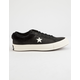 CONVERSE One Star Ox Fur Black  Womens Shoes