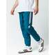 ADIDAS Classic Wind Teal Blue Mens Track Pants