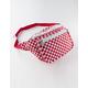 Mini Checker Red & White Fanny Pack