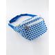 Mini Checker Blue & White Fanny Pack